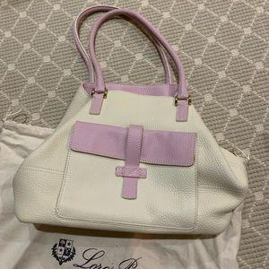 Loro Piana Bi-color Globe Bag